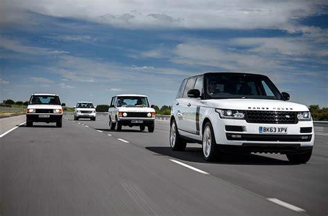 45 years of british design land rover 45 years of range rover exceptional british design