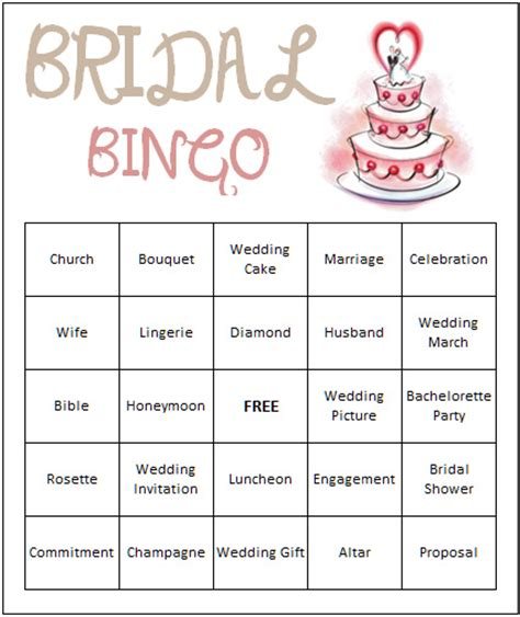 free printable bridal shower game cards 7 best images of bridal shower bingo games free printables