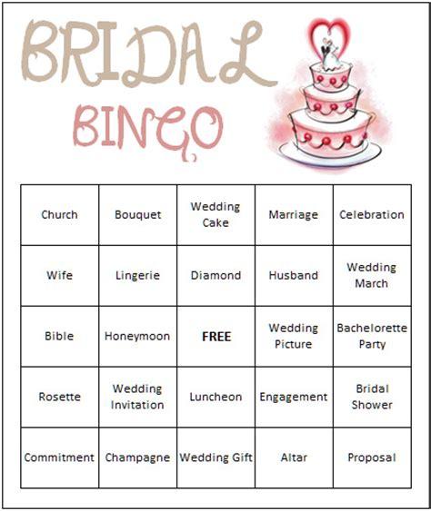 printable wedding shower bingo game 7 best images of bridal shower bingo games free printables