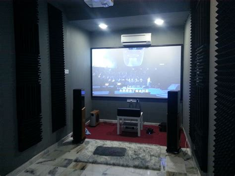 project home theatre room acoustic tuning choy audio visual