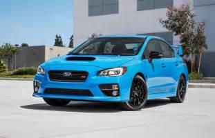 Blue Subaru Sti Subaru Wrx Sti Brz Hyper Blue Editions Announced For