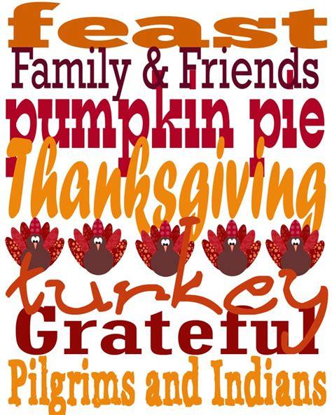 printable art for thanksgiving thanksgiving subway art free printable thanksgiving