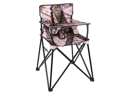 camo cing high chair ciao baby portable highchair mossy oak