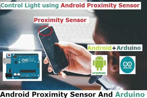 proximity sensor android android proximity sensor and arduino controlled l in
