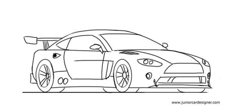 how to draw a car drawing fast race sports cars step by step draw cars like buggati aston martin more for beginners books how to draw a race car easy for junior car designer