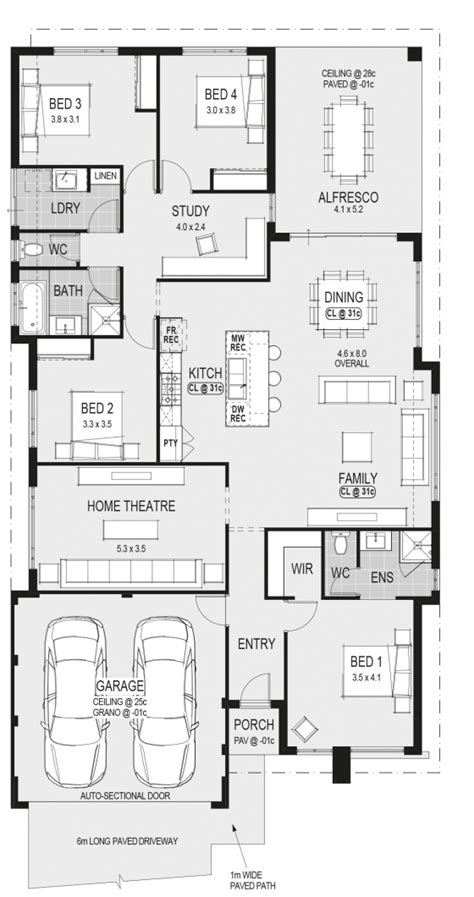 house floor plans perth home designs 187 home group wa