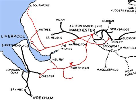clc map lner encyclopedia the cheshire lines committee