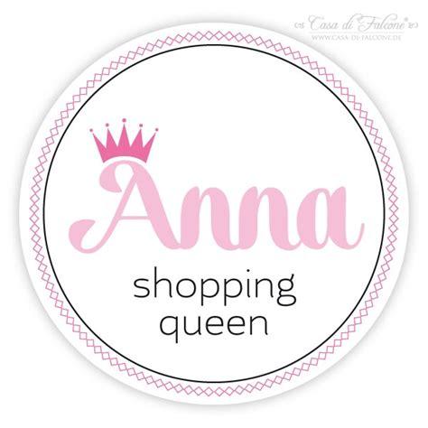 Sticker Personalisiert by Aufkleber Shopping Queen Personalisiert Casa Di Falcone