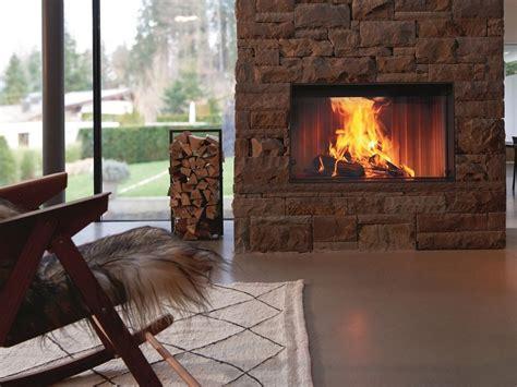 inserto camini a legna inserto per camini a legna con vetro panoramico premium v