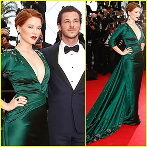 lea seydoux gaspard ulliel lea seydoux news photos and videos just jared page 2