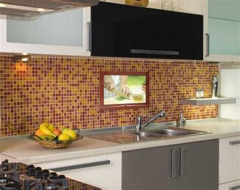 led screen backsplash 7 modern kitchen design trends stylishly incorporating tv