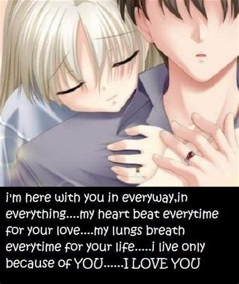 anime quotes about love anime love quotes anime love sayings anime love