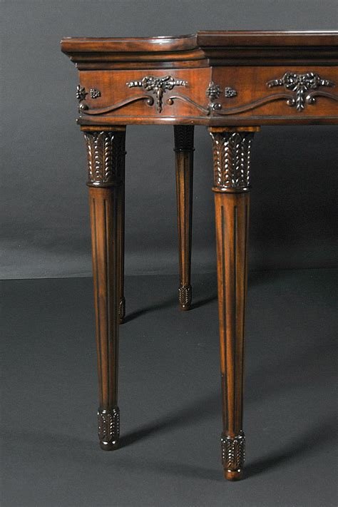French Dining Table With Louis Xvi Style Legs And | french dining table louis xvi neoclassical elegant