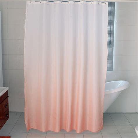 95 shower curtain gradient shower curtain