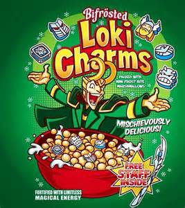 Powers Lucky Charms Give Me Powers Themed Cereal Boxes