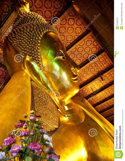 reclining buddha at wat pho reclining buddha at wat pho stock images image 21225574