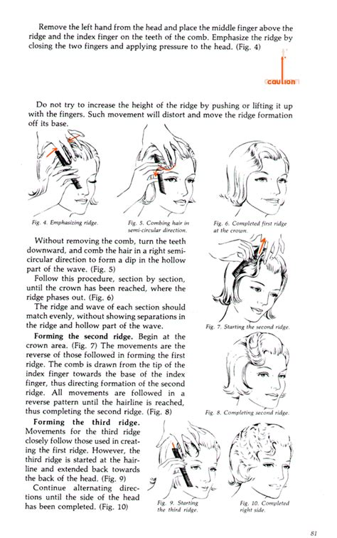 How To Do A Finger Wave On A Twa | the fingerwave a k a marcel wave shadow wave water wave
