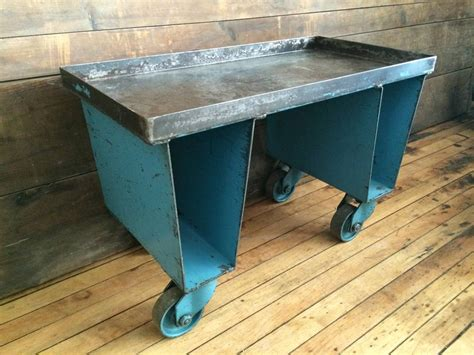 furniture factory cart coffee table factory cart of steel with wheels as end side or coffee