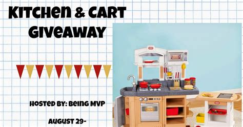 nanny to mommy little tikes cook around kitchen cart