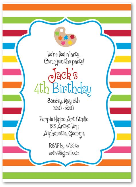 birthday invitations invitations theruntime