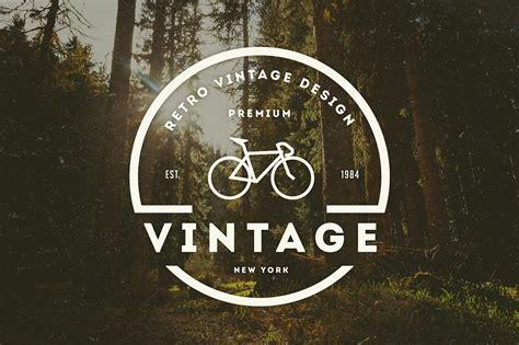 logo retro 14 vintage logos badges logo templates creative market