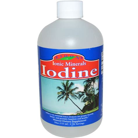 supplement with iodine eidon mineral supplements iodine 18 oz 533 ml iherb