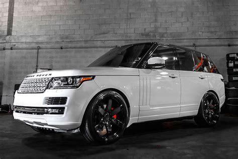 white land rover black rims range rover hse ebay autos post