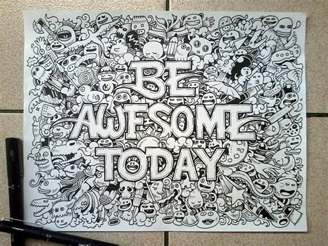 awesome pen doodles with doodle artist kerby rosanes friday