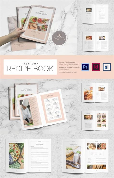word recipe template free download free printable recipe card