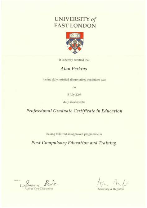 college college degree certificates