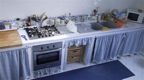 Tutorial Cucina In Muratura by Casa Immobiliare Accessori Cucina Con Tendine