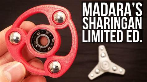 Fidget Spinner Besi Sasuke Sharingan fidget spinner madara s sharingan limited edition