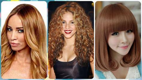 pelo color chocolate cabello color chocolate caramelo para