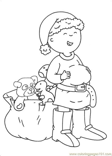 caillou coloring pages pdf coloring pages caillou coloring pages 006 cartoons