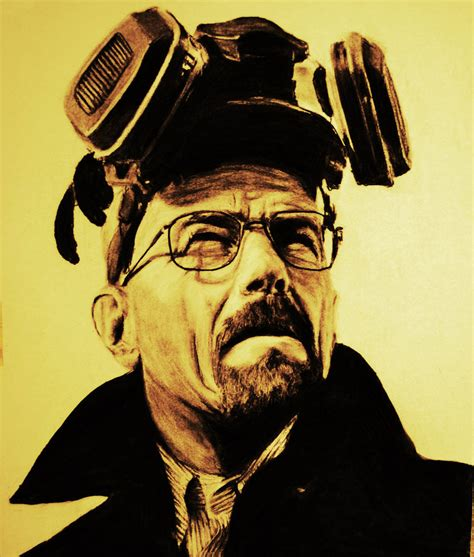 walter white from breaking bad by waarheid on deviantart