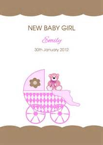 personalised new baby card design 4