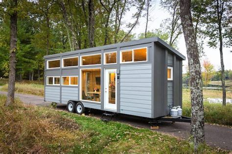 Small Home Escape Escape Traveler Xl Tiny House With Size Appliances