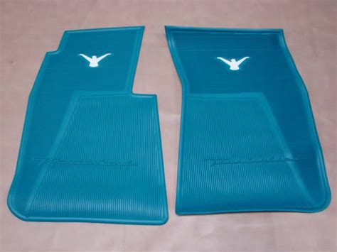 peacock rubber st t 13106f rubber floor mats peacock for 1956 ford