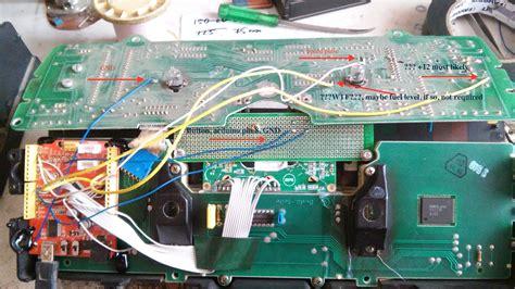 github michbilarduinokadett opel kadett arduino dash repair