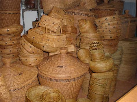 Tas Anyaman Bambu selamat datang di kerajinan anyaman ketak atte nusa