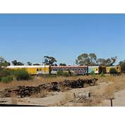 The Tailem Bend Train Graveyard  Adelaide