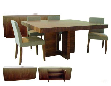 Modern Square Dining Table Dining Room Modern Furniture Square Igfusa Org