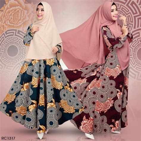 Set Syari Woolpeach by Set Syari Maza Rc1317