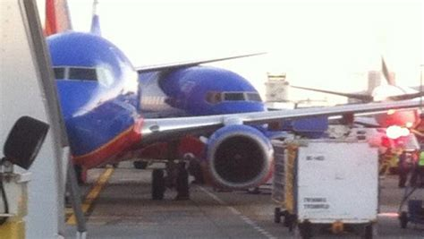 southwest airlines planes collide in cargo area at sea tac airport travelpulse