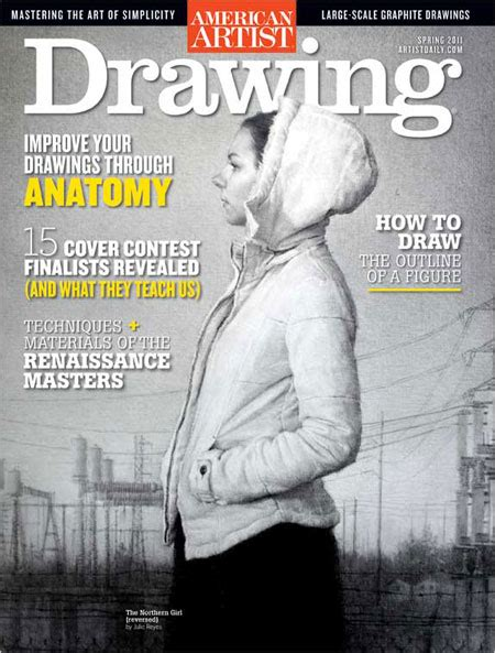 Drawing Magazine Cover Competition