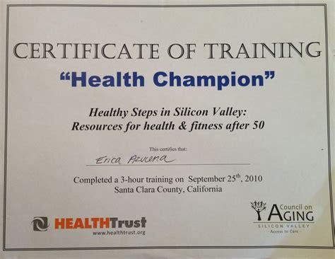 certificates erica azucena s dietetics portfolio