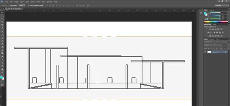 sketchup layout remove background how to create a quick sectional architecture drawing in