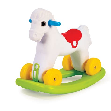 Toddler Toys - dolu 2 in 1 rocking pony wheels indoor
