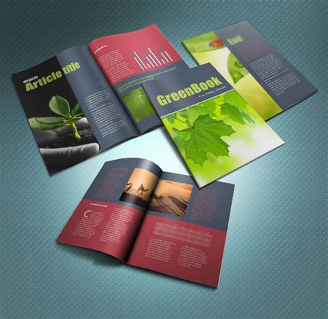 indesign brochure template free 30 professional free premium indesign magazine