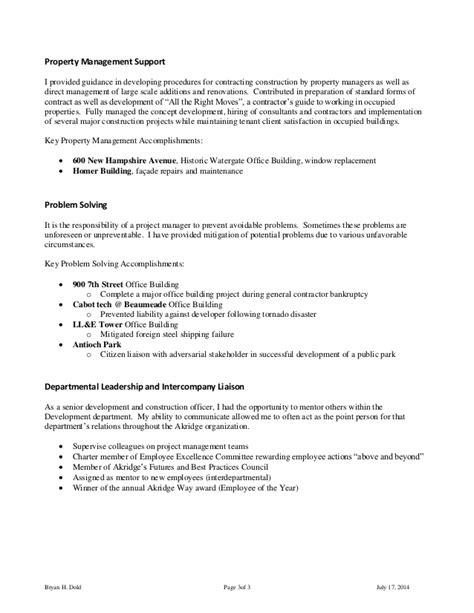 Resume Property Manager Experience Property Management Resume 16 Free Sle Property